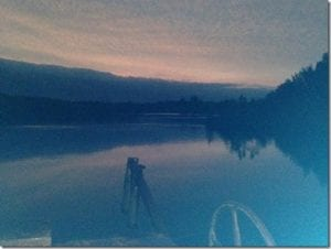 Friday night at the dam
